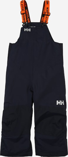 HELLY HANSEN Sporthose 'RIDER 2' in navy / hellgrau / orange, Produktansicht