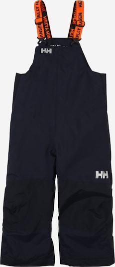 HELLY HANSEN Sportovní kalhoty 'RIDER 2' - námořnická modř / světle šedá / oranžová, Produkt