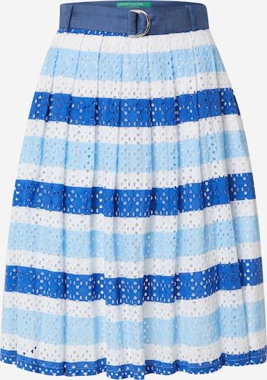 UNITED COLORS OF BENETTON Spódnica w kolorze niebieskim sRMGl1n6
