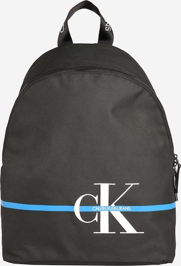 Calvin Klein Jeans Rucksack in blau / schwarz / weiß, Produktansicht