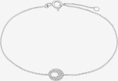 CHRIST Armband 'Diamonds' in silber, Produktansicht