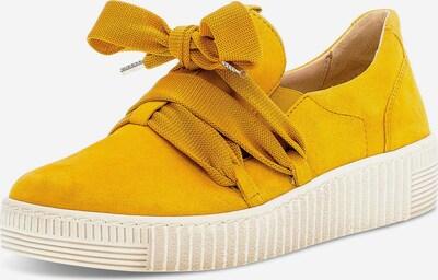 GABOR Schnürschuhe in gelb, Produktansicht
