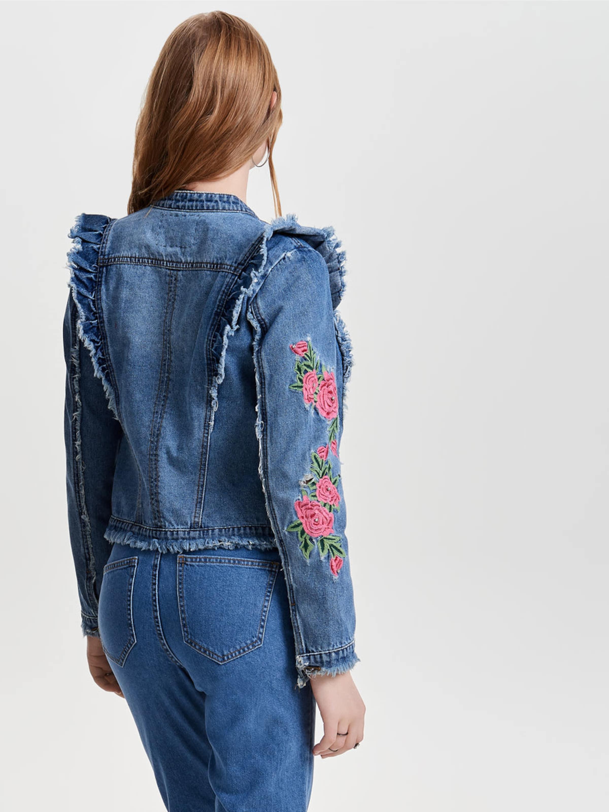 ONLY Jeansjacke Verkauf Ausgezeichnet Billig Rabatt Authentische Online WzznMoTp