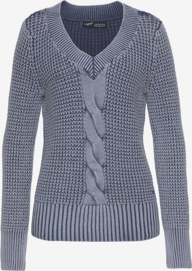 ARIZONA Pullover in taubenblau, Produktansicht