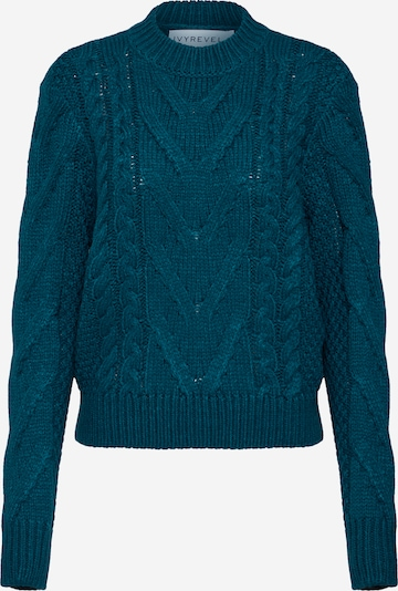 IVYREVEL Pullover 'CABLE KNIT' in dunkelgrün, Produktansicht