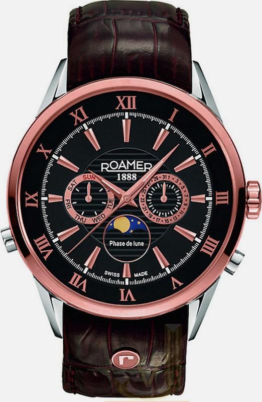 Roamer Multifunktionsuhr, 'SUPERIOR MOONPHASE, 508821 49 53 05'