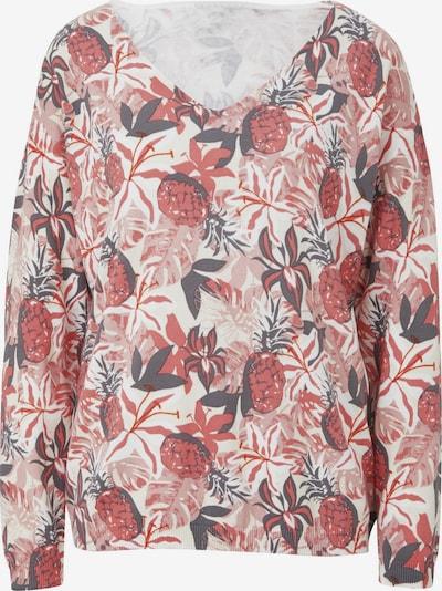 heine LINEA TESINI by Heine V-Ausschnitt-Pullover in rosa, Produktansicht