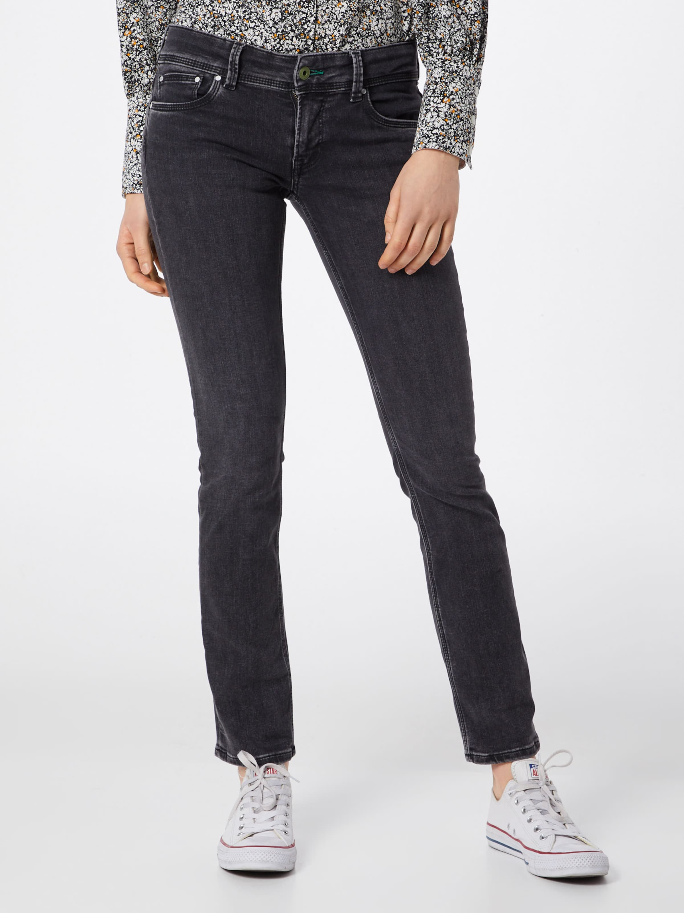 Pepe Jeans In Black 'saturn' Denim UVpMqGSz