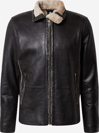 FREAKY NATION Winterjas 'Raik' in de kleur Lichtbeige / Zwart, Productweergave