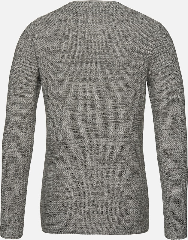 En 'rh Nowadays Gris over Structur' Chiné Pull v8nmONw0