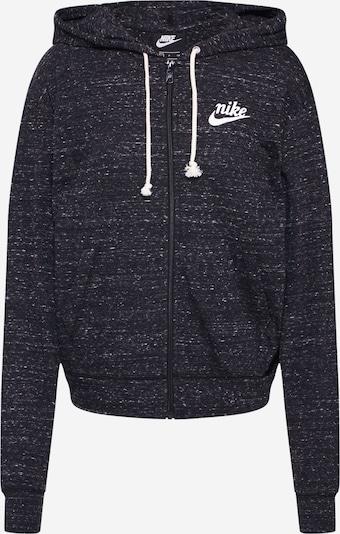 Nike Sportswear Sweatjacke in schwarzmeliert, Produktansicht