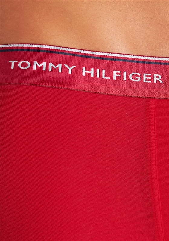 Tommy Hilfiger Underwear Boxer (3 Stück) mit gestreiftem Webbund