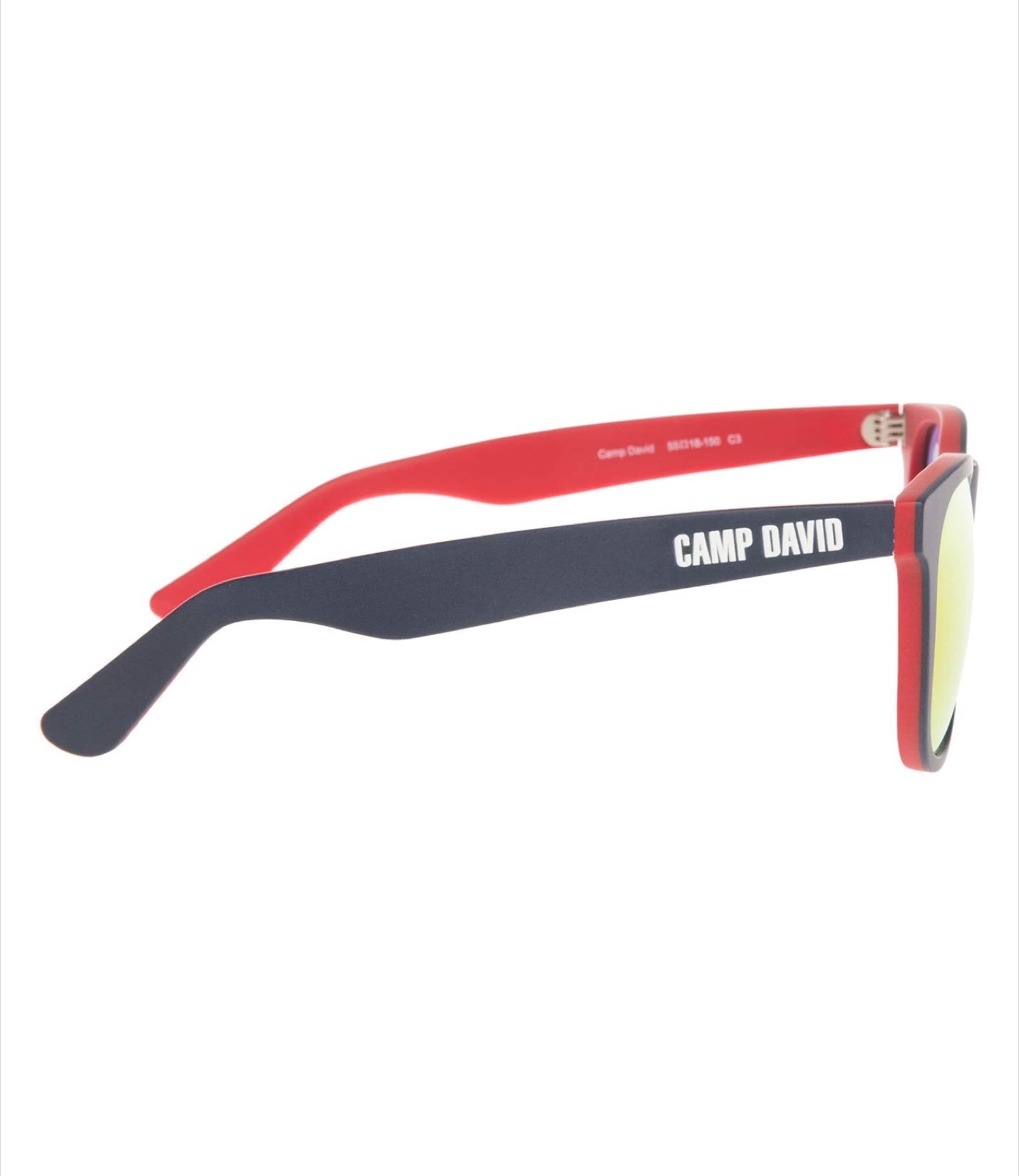 Sonnenbrille In Sonnenbrille NavyRot In Camp Camp Sonnenbrille NavyRot David Camp David David c3TlF1KJ