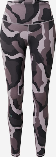 UNDER ARMOUR Leggings 'Rush' in taupe / anthrazit / hellgrau / dunkelgrau, Produktansicht