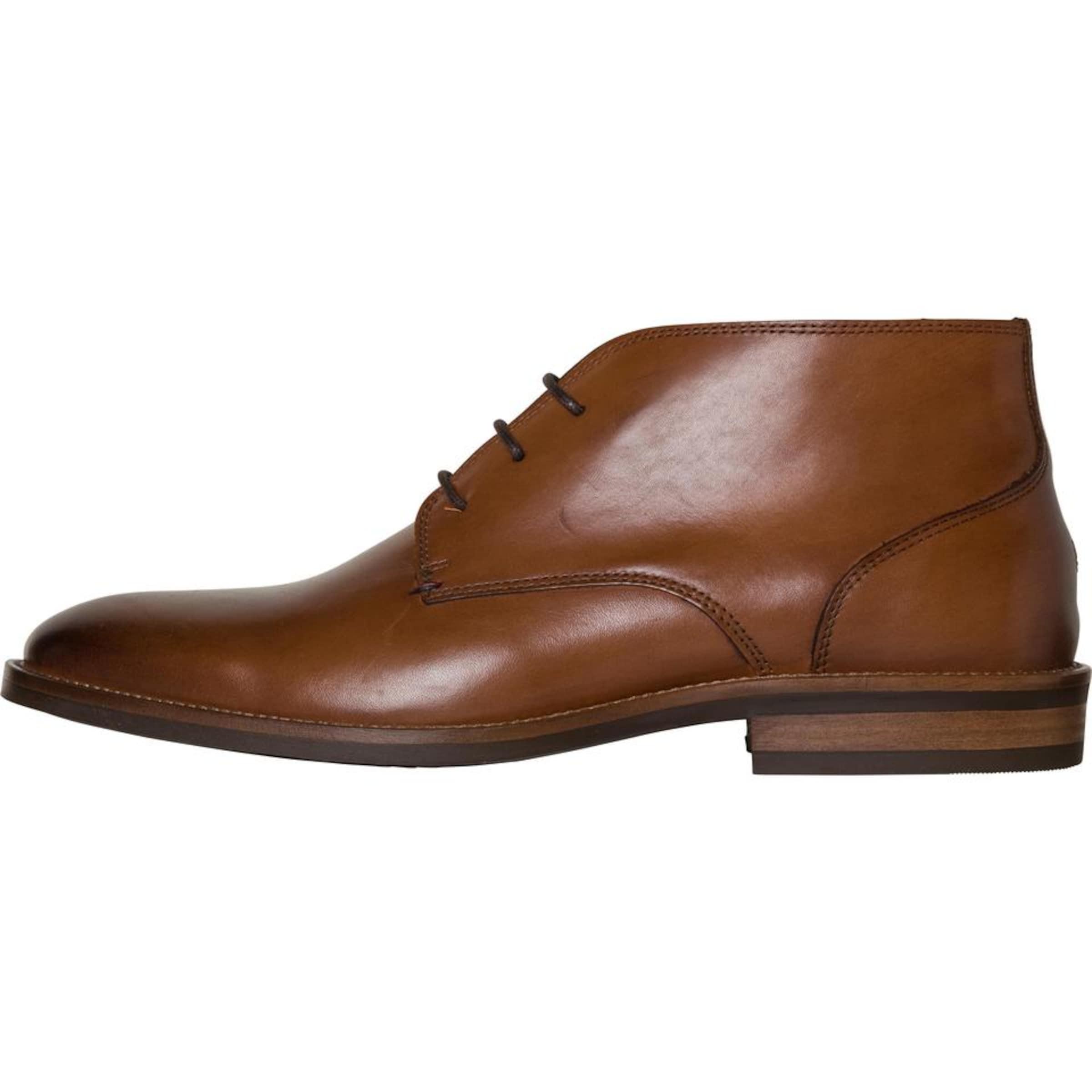 TOMMY HILFIGER   Schnürhalbschuh 'ESSENTIAL LEATHER Schuhe BOOT' Schuhe Gut getragene Schuhe LEATHER 9d828b