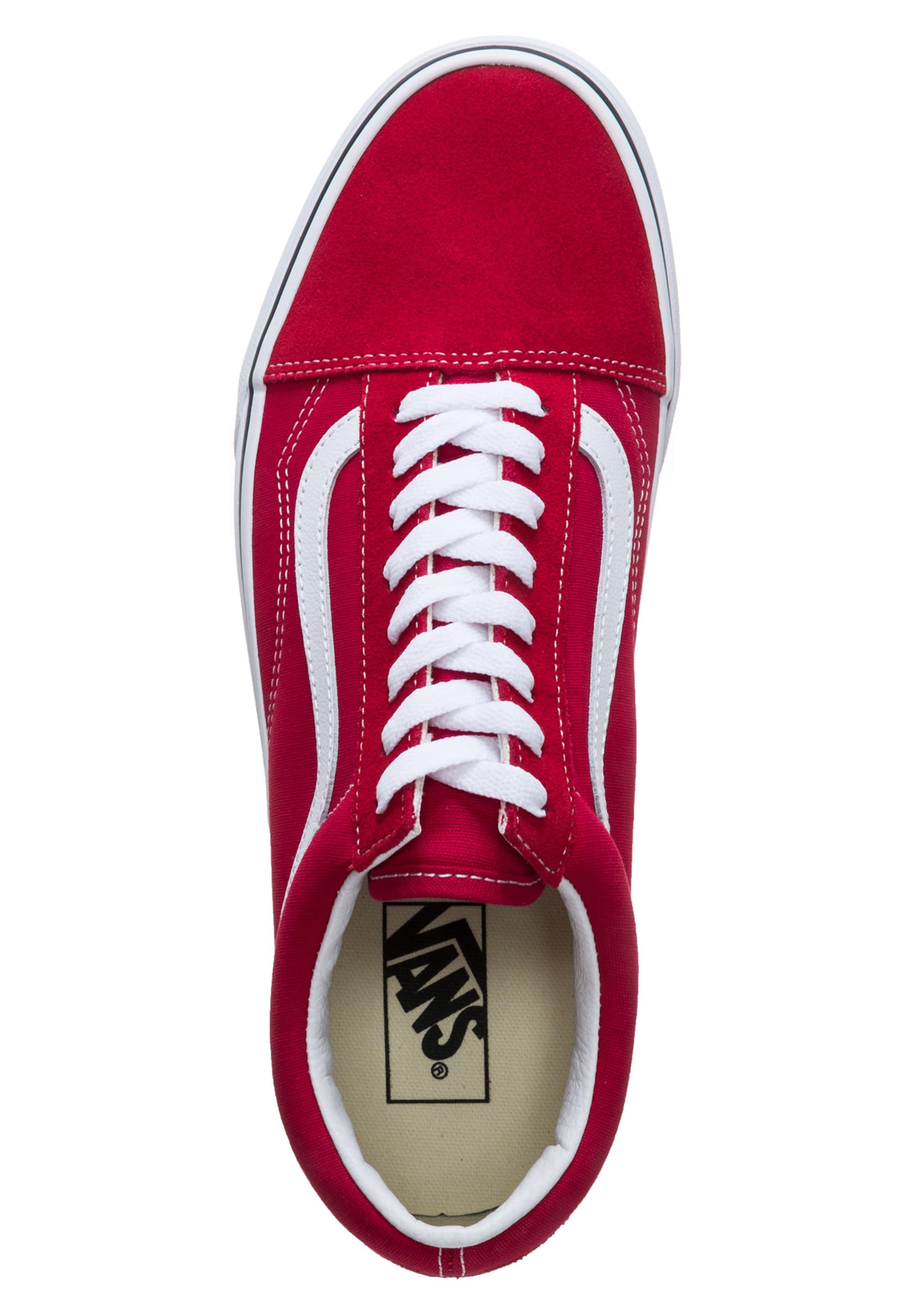 Vans Sneaker 'old Skool' RotWeiß In EDeWHY92I