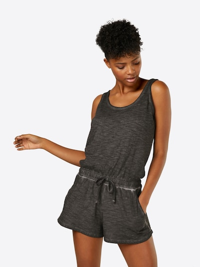 Urban Classics Jumpsuit in de kleur Donkergrijs, Modelweergave