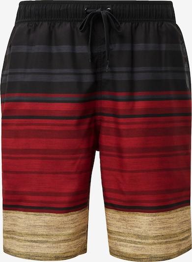 ADIDAS PERFORMANCE Shorts in beige / blutrot / schwarz, Produktansicht