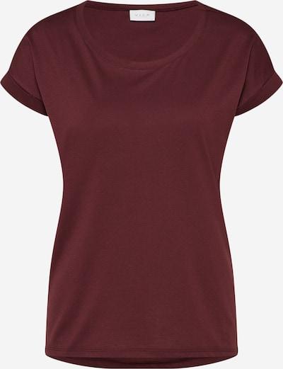 VILA Shirt 'Dreamers' in de kleur Bordeaux, Productweergave