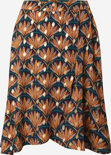 VILA Sukně 'VIZINO' - noční modrá / tmavě modrá / zlatá / oranžová, Produkt