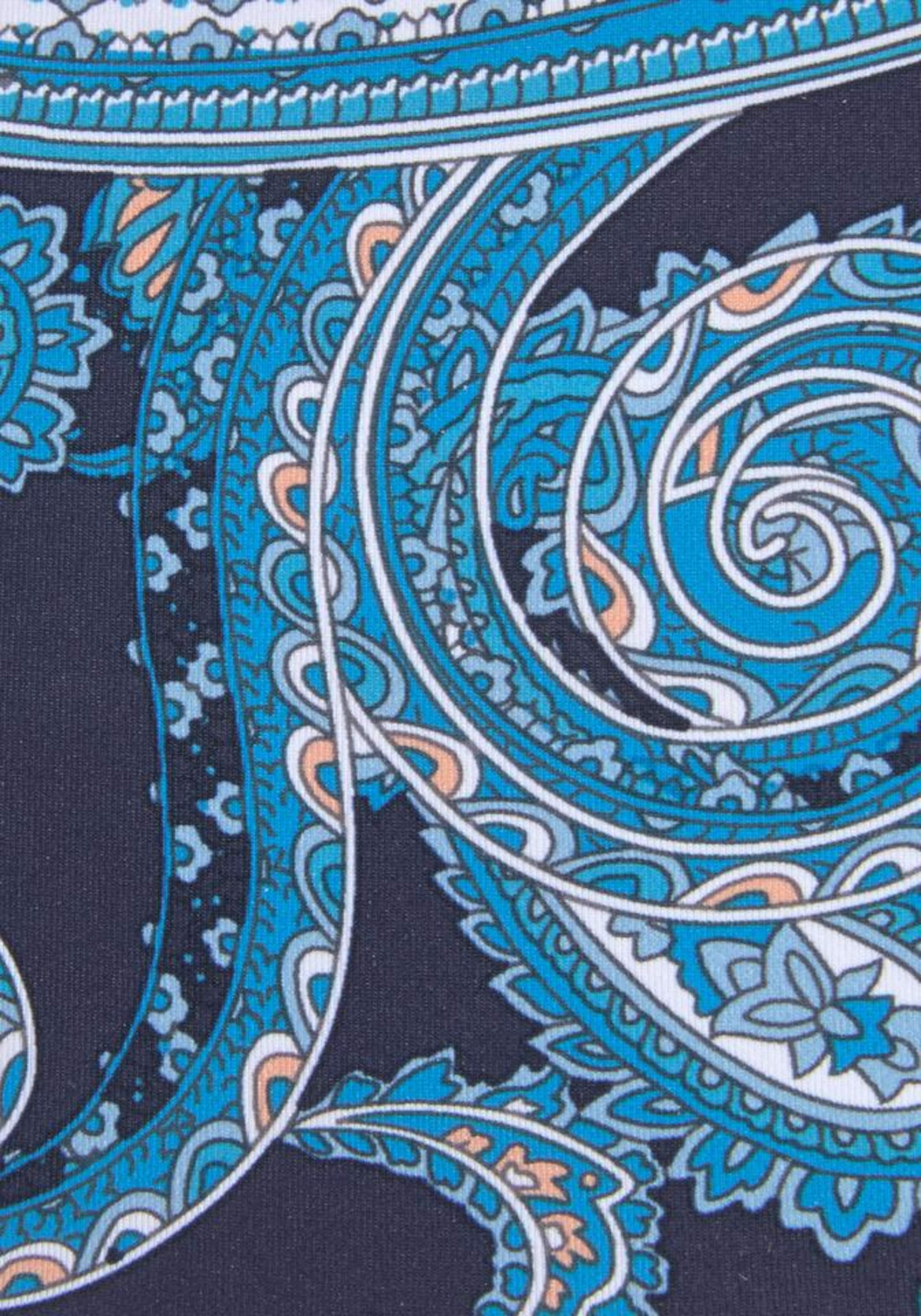 LASCANA Bikinibyxa 'Boho' i marinblå