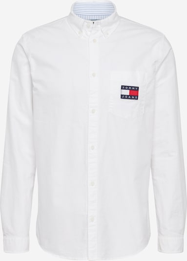 Tommy Jeans Hemd 'TJM OXFORD BADGE SHIRT' in weiß, Produktansicht