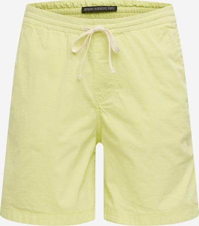 DRYKORN Pantalon 'SORT' en jaune, Vue avec produit