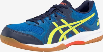 ASICS Sportschuh in blau / gelb, Produktansicht