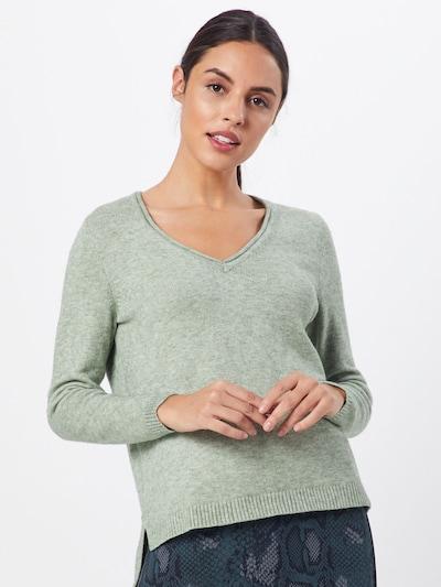 ONLY Sweter 'LESLY' w kolorze pastelowy zielonym: Widok z przodu