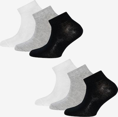 EWERS Socken in graumeliert / schwarz / weiß, Produktansicht