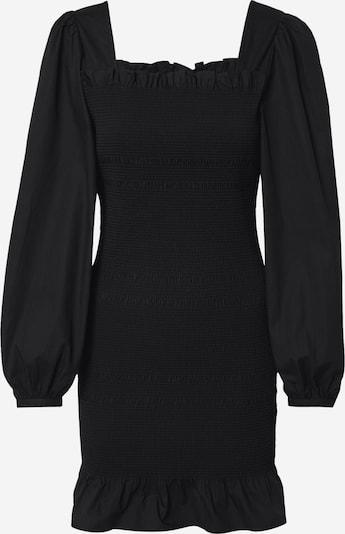 NA-KD Kleid in schwarz: Frontalansicht