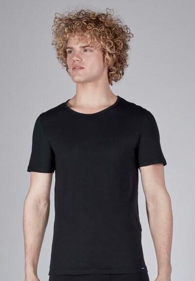 Skiny Maillot de corps en noir, Vue avec modèle