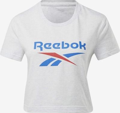 Reebok Classic Shirt in de kleur Blauw / Rood / Wit, Productweergave