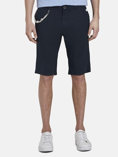 TOM TAILOR Shorts in nachtblau, Modelansicht