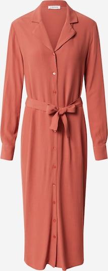 EDITED Robe-chemise 'Christin' en rouge orangé, Vue avec produit