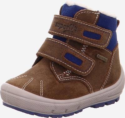 SUPERFIT Stiefel in blau / braun, Produktansicht