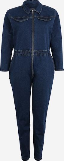 Urban Classics Curvy Jumpsuit in de kleur Donkerblauw, Productweergave