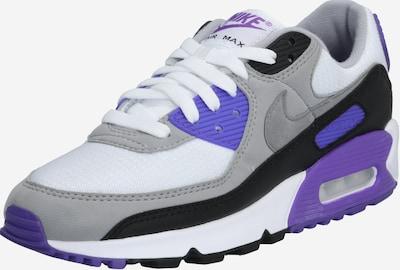 Nike Sportswear Sneakers laag 'Nike Air Max 90' in de kleur Grijs / Lila / Wit, Productweergave