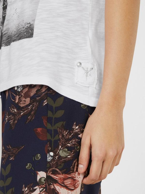 monari T-Shirt mit Frontprint