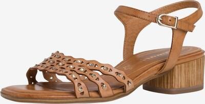 TAMARIS Sandale in cognac, Produktansicht