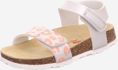 SUPERFIT Sandale in rosa, Produktansicht