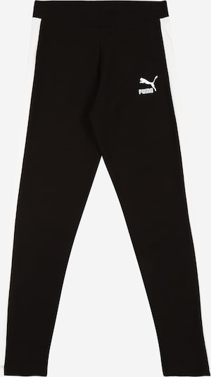 PUMA Sporthose 'Classics T7' in schwarz / weiß, Produktansicht