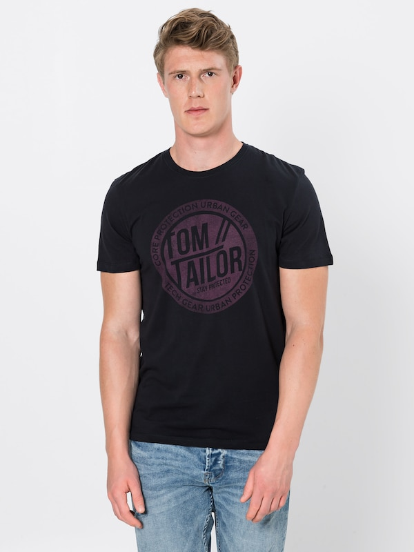 AntracietWijnrood Tailor Shirt In Shirt Tom Tom Tailor In 1FTK3ulJc