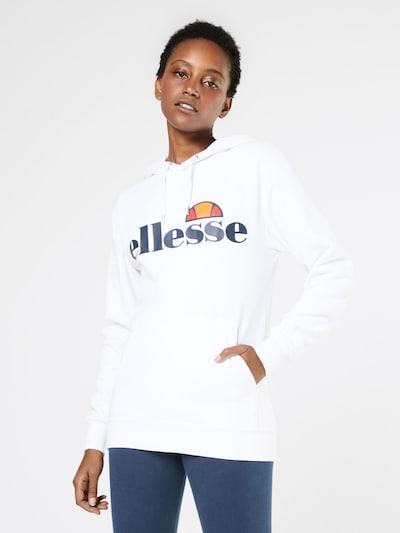 ELLESSE Sweatshirt 'Torices' in marine / orange / hellrot / weiß: Frontalansicht