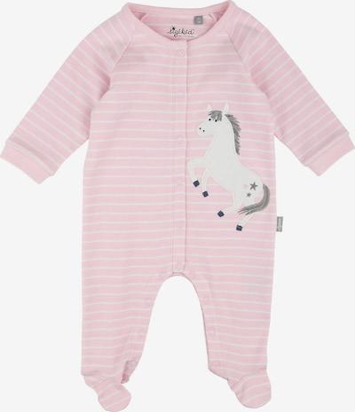 SIGIKID Schlafanzug in rosa / weiß, Produktansicht