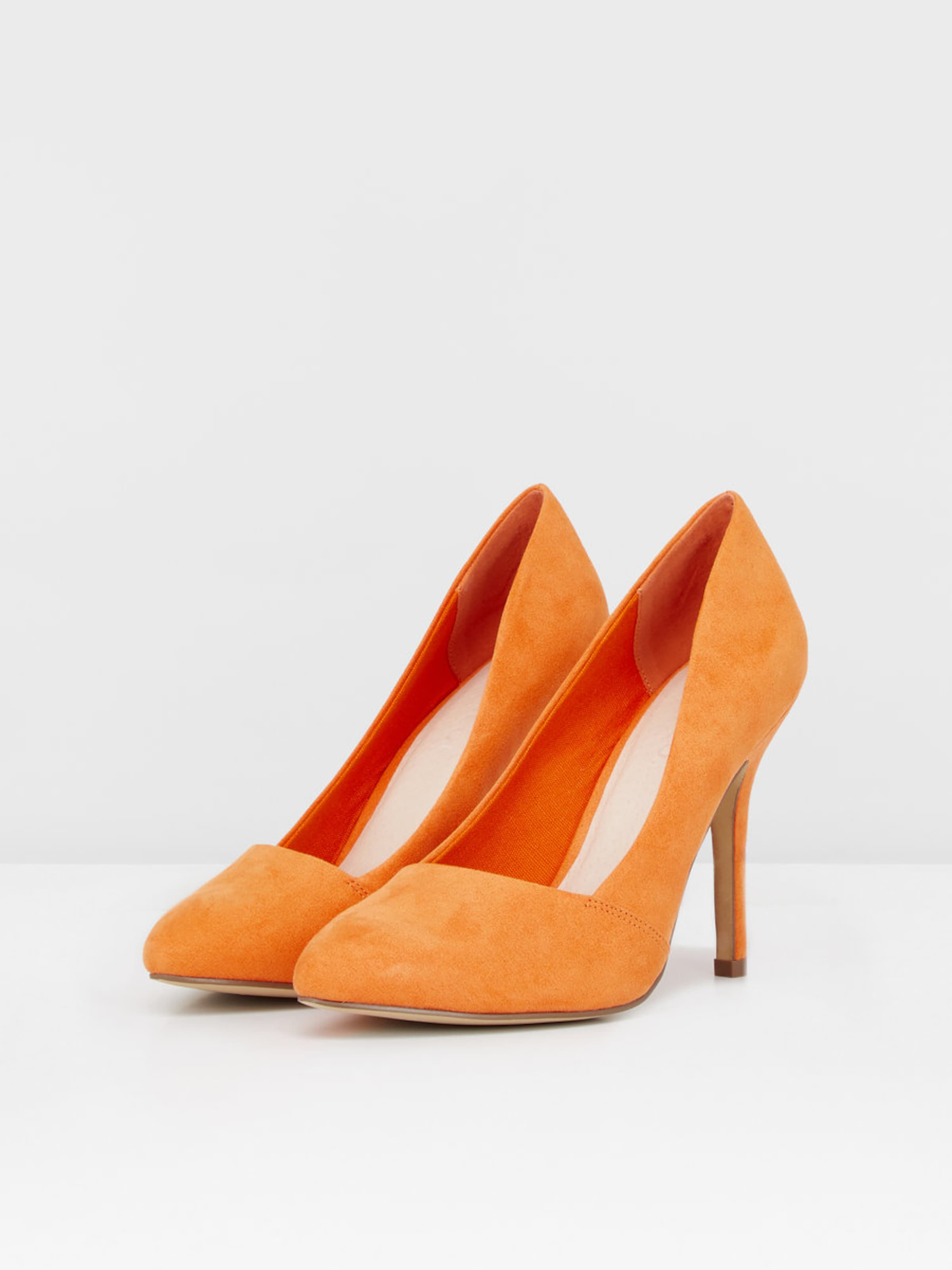 Bianco Slip-on Pumps, orange, Orange
