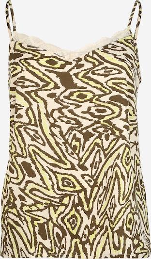 ONLY Carmakoma Haut 'CARTRIPLE' en beige / brun foncé, Vue avec produit