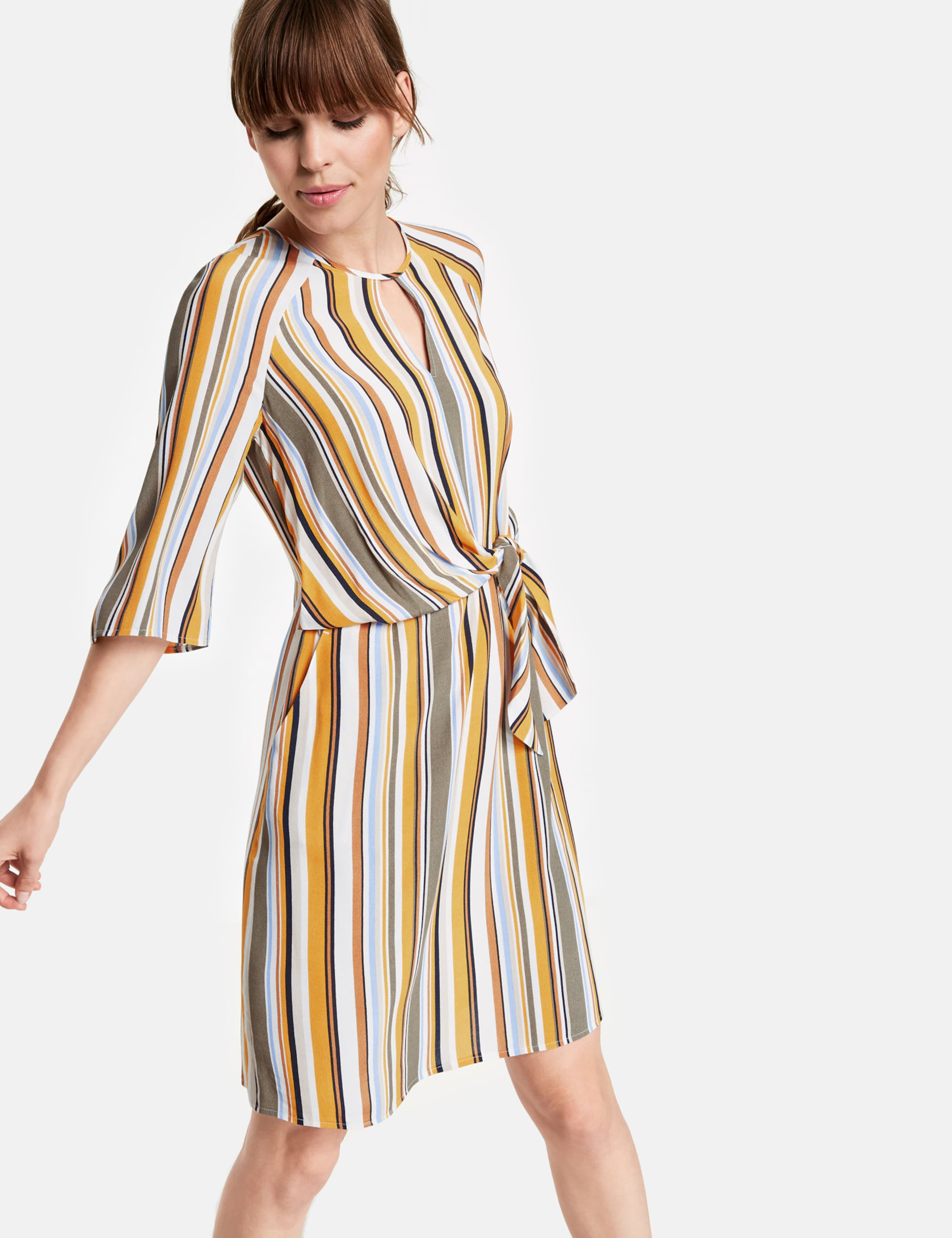Kleid HellblauCurry Weiß Taifun Orange In NwnkZ0OX8P