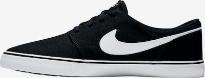 NIKE Sneakers 'Solarsoft Portmore II Skate' in Black / White, Item view