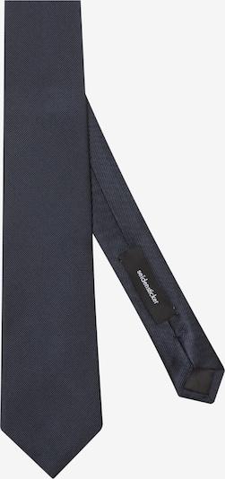 SEIDENSTICKER Cravate ' Schwarze Rose ' en bleu marine, Vue avec produit